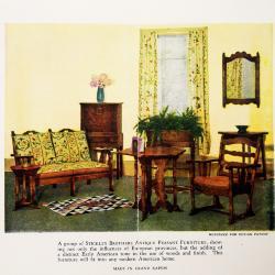 Brochure, Stickley Brothers Furniture Company, Quaint Peasant Furniture