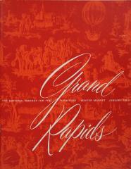 Brochure, Grand Rapids Preview, Winter Market 1963