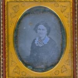 Cased Photograph, Miss Simonds' Grandmother