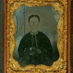 Cased Photograph, Mrs. John Stants