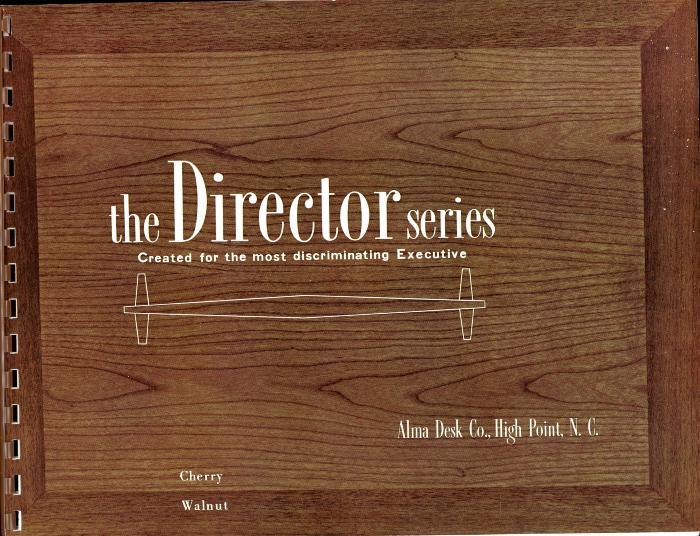 Trade Catalog, The Alma Desk Company, The Director Series