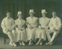Photograph, Nursing School Class c. 1900s