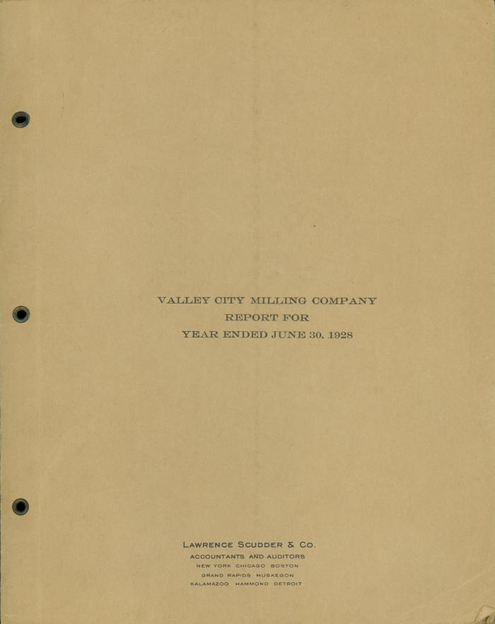 Archival Collection #016 - Valley City Milling Company