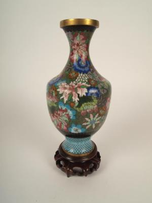 Vase, Cloisonne