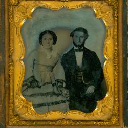 Cased Photograph, Mr. And Mrs. Gutmann