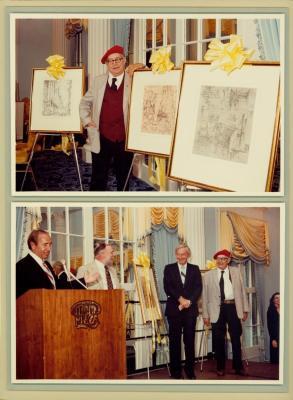 Archival Collection #081 - Reynold Weidenaar Personal Papers