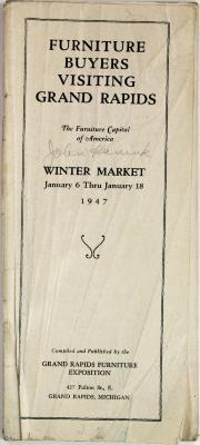 Archival Collection #089 - John Widdicomb Co./John D. Hanink