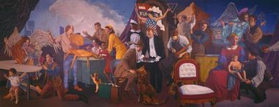 Archival Collection #077 - Ed Wong-Ligda/Furniture City Mural