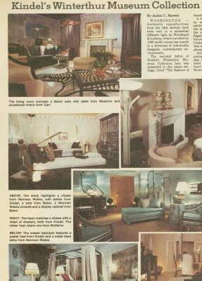 Archival Collection #093 - GRAFMA Furniture Scrapbook