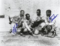 Photograph, Autographed, Grand Rapids Black Sox Baseball Players