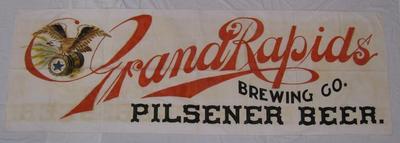 Banner, Grand Rapids Brewing Company Pilsener Beer
