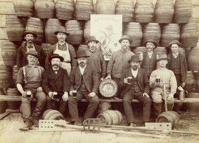Photograph, Veit And Rathman's Brewery Labor