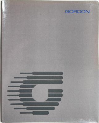 Trade Catalog, Gordon Manufacturing Company