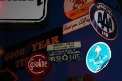 Advertising Sign, 'bronson's Garage'