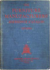 Book, The Furniture Manufacturers' Reference Catalog, 1927-1928