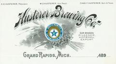 Stationary, Kusterer Brewing Company