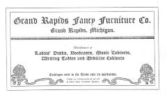Trade Catalog and Price List (Photocopy), Grand Rapids Fancy Furniture Company