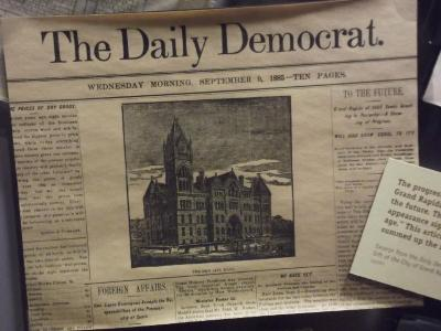Newspaper, The Daily Democrat