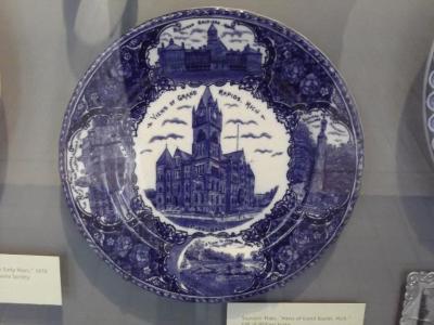 Commemorative Plate, 'views Of Grand Rapids, Michigan'