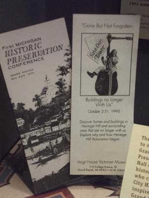 Brochure, First Mich. Historic Preservation Conference