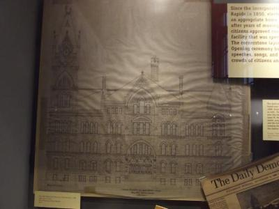Architectural Elevation Drawing, City Hall