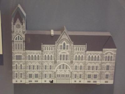Model, Old Grand Rapids City Hall