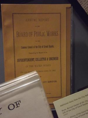 Book, 'revised Charter Of The City Of Grand Rapids And Other  Municipal Acts, 1888'