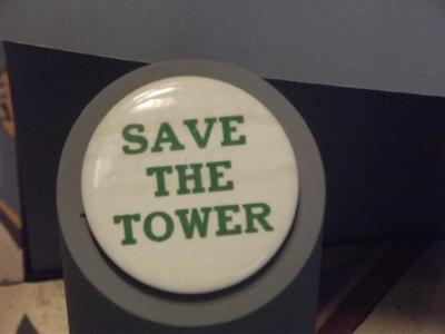 Button, Save Our Tower
