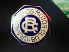 Radiator Emblem, 'grand Rapids Motor Club'