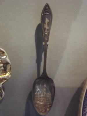 Souvenir Tea Spoon, Grand Rapids City Hall