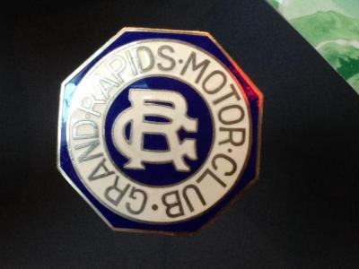 Radiator Emblem, 'grand Rapids Motor Club'