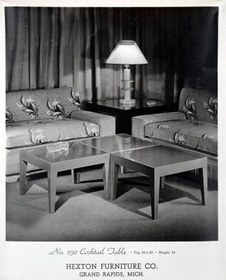 Furniture Plate, Hexton Furniture Company, Living Room Furniture Group