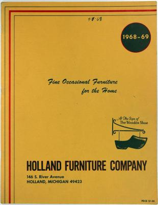 Trade Catalog Holland Furniture Company Fine Occasional For The Home