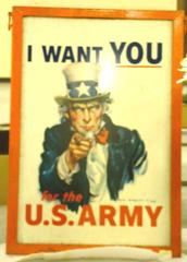 Recruiting, Uncle Sam, I Want You For The U.S. Army, World War I