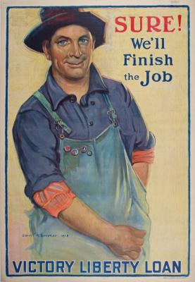 Poster, Sure We'll Finish The Job