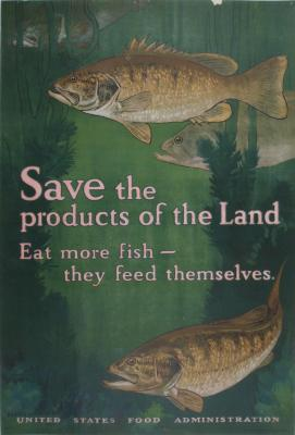 Poster, World War I, Save The Products Of The Land