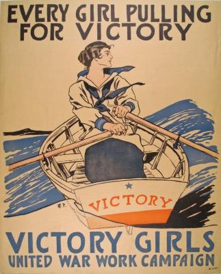 Poster, Victory Girls