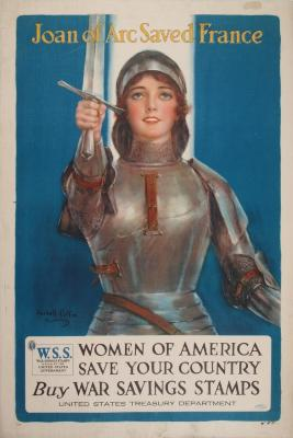 Poster, Joan of Arc Saved France