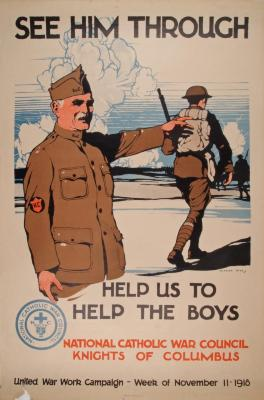 Poster, See Him Through