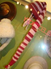 Stocking Cap, Pink And Burgundy