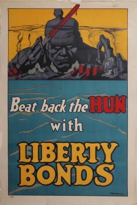 Poster, Beat Back The Hun