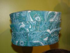 Hat, Blue Paisley