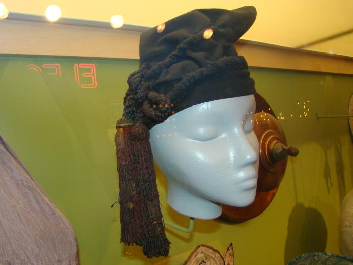 Hat, Black Wool