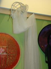 Wedding Veil And Tiara Headpiece