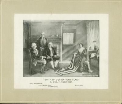 Picture, 'birth Of Our Nation's Flag'