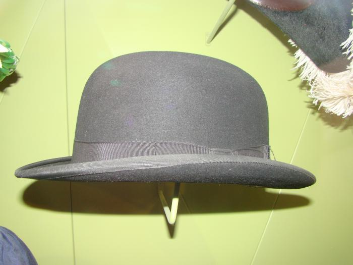 Hat, Black Bowler