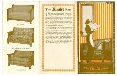 Brochure, Kindel Bed Company, The Kindel Kind