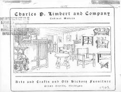 Trade Catalog (photocopy), Charles P. Limbert and Company, Arts and Crafts and Old Hickory Furniture
