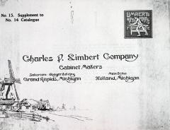 Supplement (photocopy), Charles P. Limbert and Company, Arts and Crafts Furniture