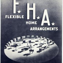 Booklet, Johnson Furniture Company, Flexible Home Arrangements